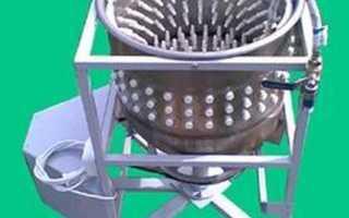 Устройство перосъемной машина для гусей